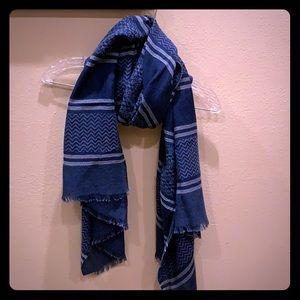 LOFT blue scarf